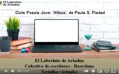 CICLE POESIA JOVE: 'Afàsia' de Paula S. Piedad