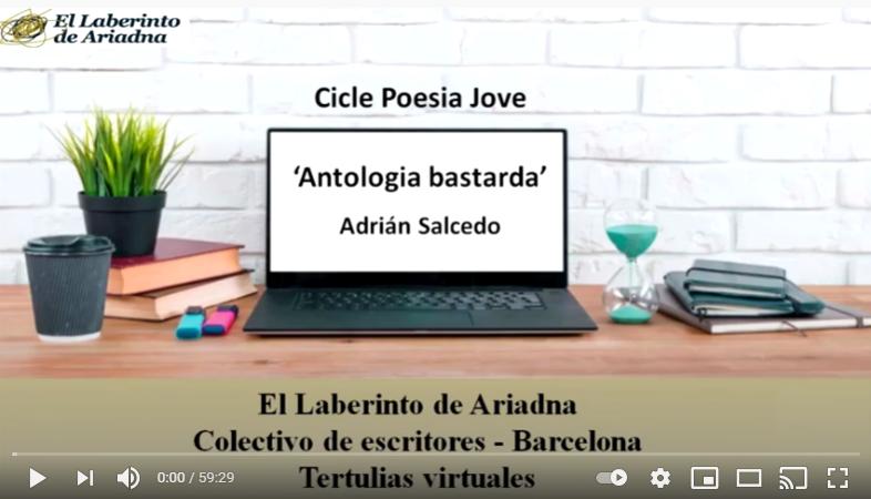 CICLE POESIA JOVE: 'Antologia bastarda' d'Adrián Salcedo