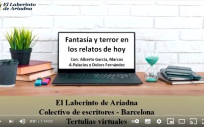 «Fantasía y terror en los relatos de hoy», con Alberto García, Marcos A. Palacios y Dolors Fernández