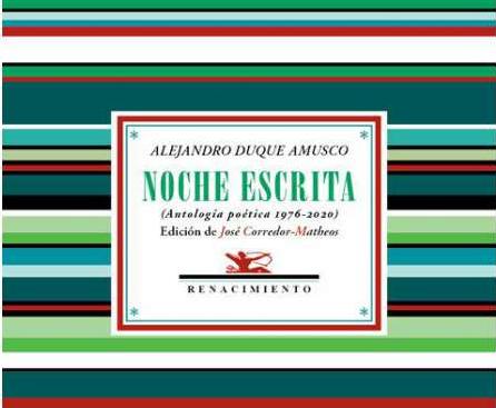 'Noche escrita', de Alejandro Duque Amusco