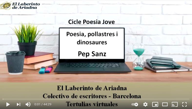 Poesia, pollastres i dinosaures amb Pep Sanz