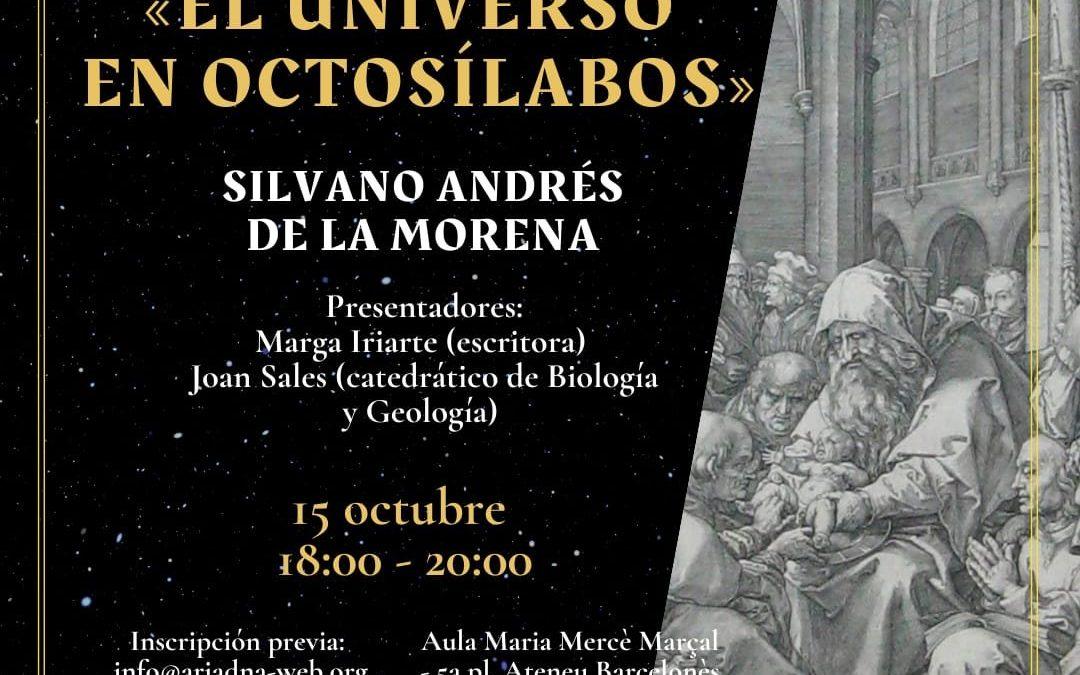'El universo en octosílabos' de Silvano Andrés de la Morena